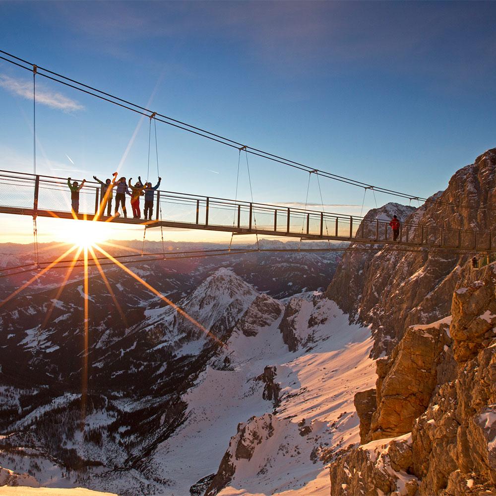 Dachstein-Gletscher - Ausflugsziel in der Steiermark