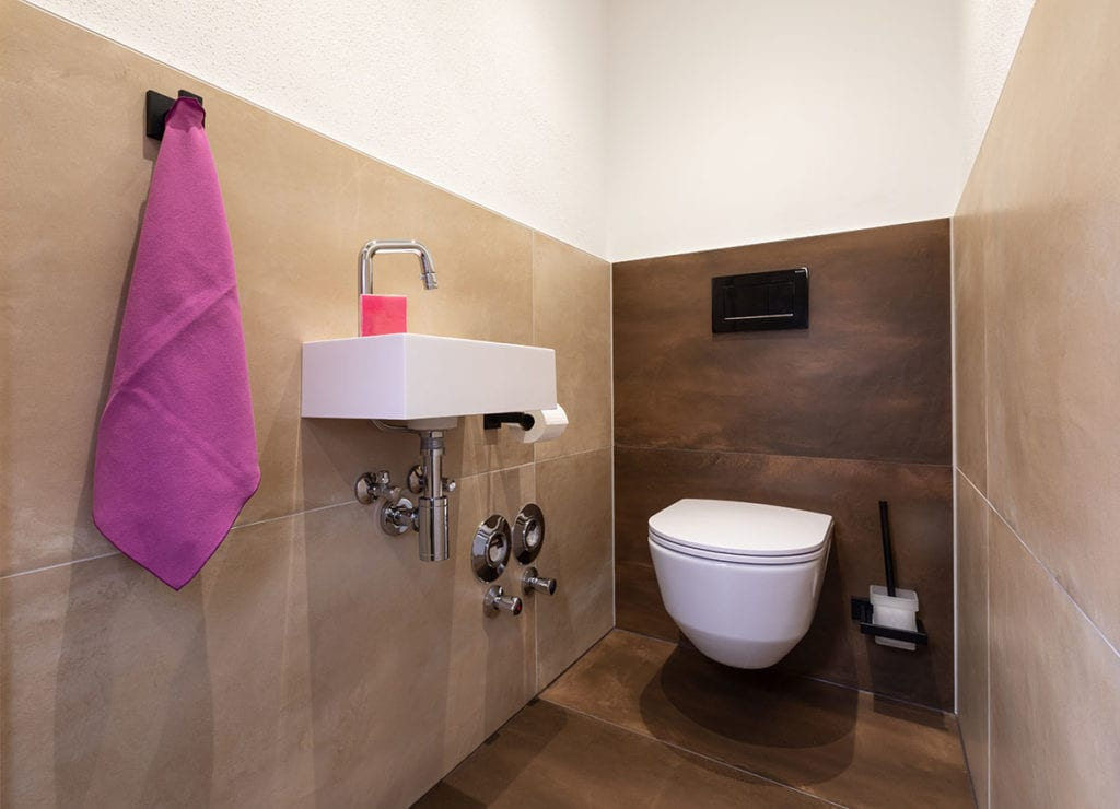 Badezimmer - ImPuls aparts, moderne Appartements in Schladming