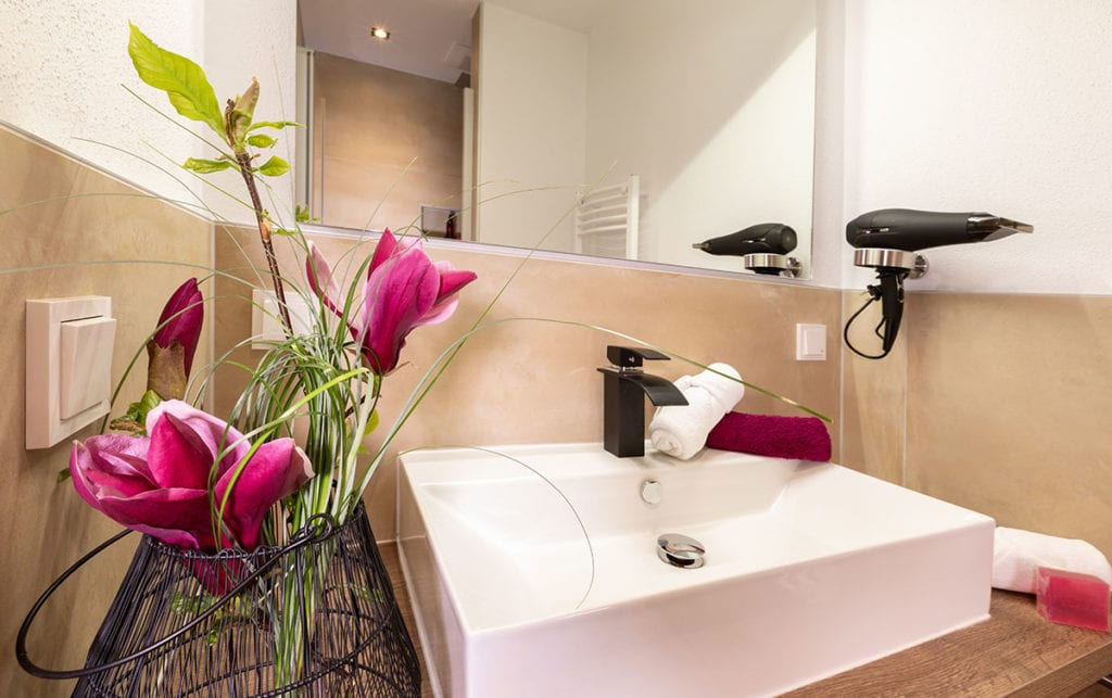 Badezimmer - ImPuls aparts, moderne Appartements in Schladming