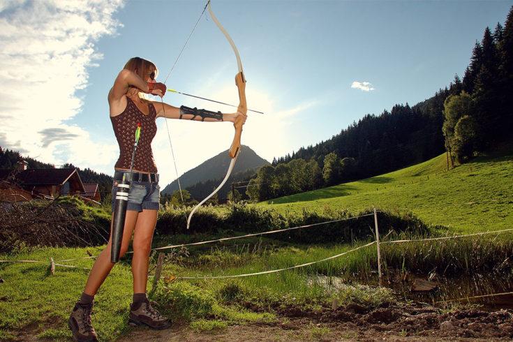 Bogenparcours - Sommerurlaub in der Region Schladming-Dachstein