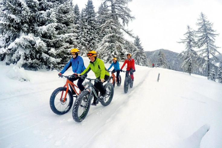 Fatbiken - Winterurlaub in der Region Schladming-Dachstein
