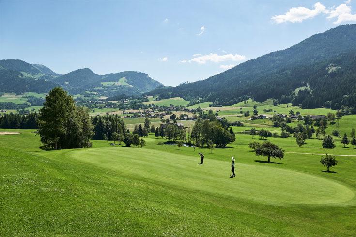 Golf - Sommerurlaub in der Region Schladming-Dachstein