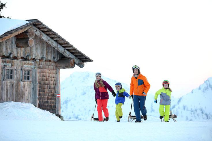 Rodeln - Winterurlaub in der Region Schladming-Dachstein