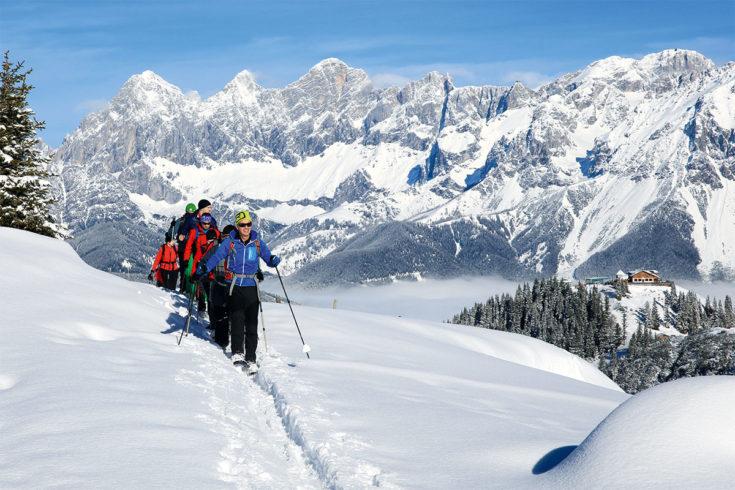 Schneeschuhwandern - Winterurlaub in der Region Schladming-Dachstein