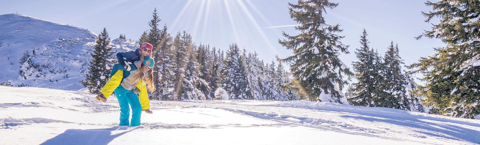 Schneespaß - Winterurlaub in der Region Schladming-Dachstein