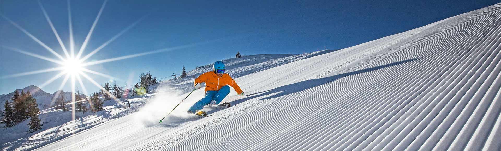 Skifahren auf der Planai, Skiurlaub in Schladming