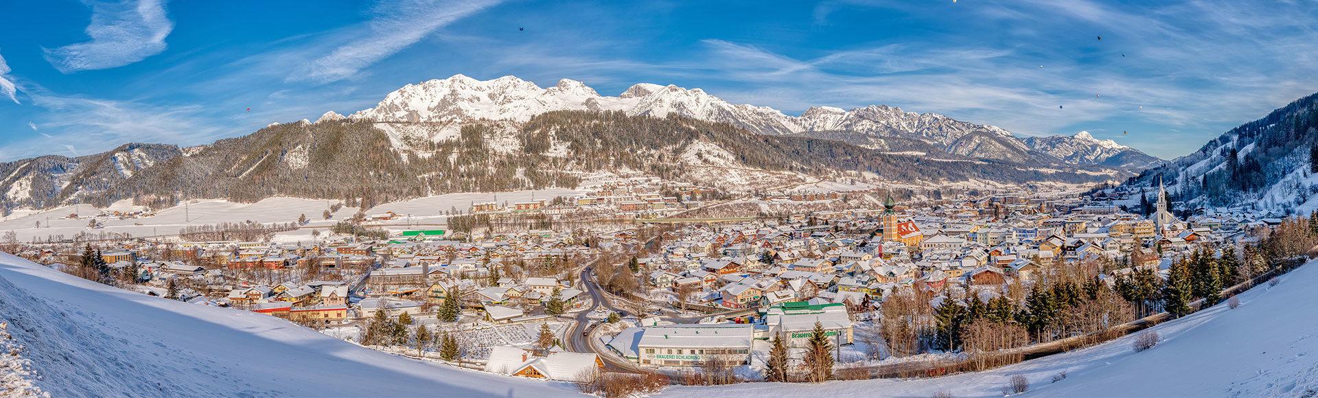 Winterurlaub in Schladming, Region Schladming-Dachstein
