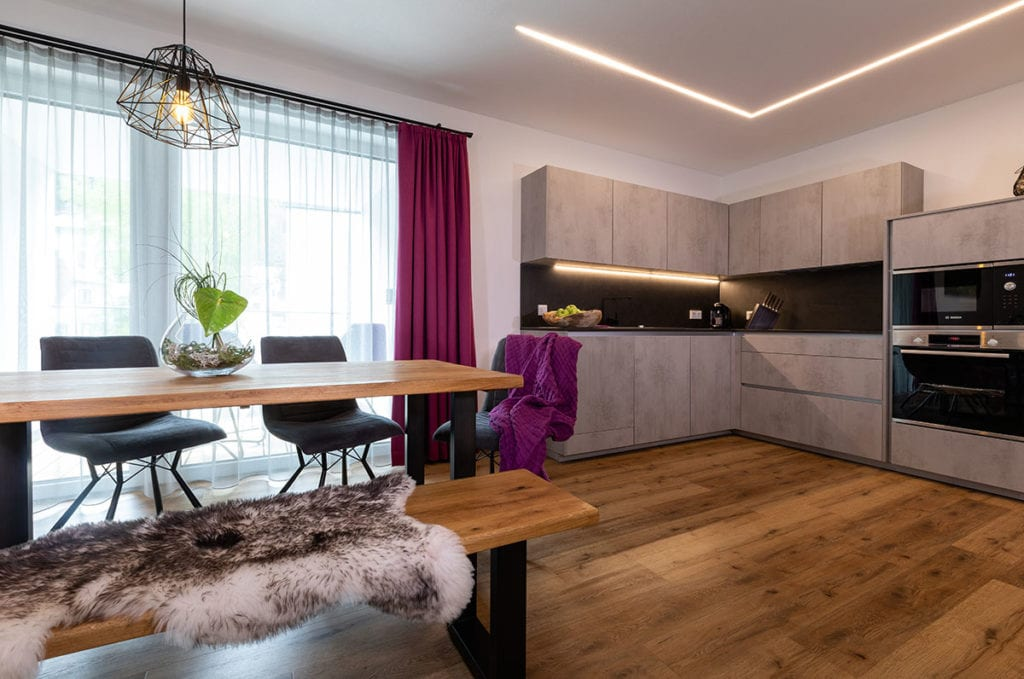 Wohnbereich - ImPuls aparts, moderne Appartements in Schladming